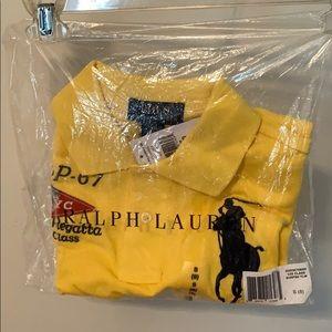 Kid size 8, polo Ralph Lauren collar shirt